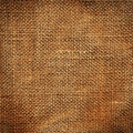 Texture of a burlap material Royalty Free Stock Photo
