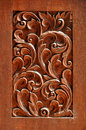 Texture of carved wood Royalty Free Stock Photo