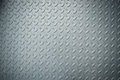 Texture of checker plate flooring, Floor metalic texture, Background. Royalty Free Stock Photo