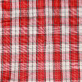 Texture of checkered picnic blanket. Royalty Free Stock Image