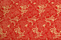 Texture of chinese silk Royalty Free Stock Photo
