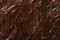 Texture of chocolate icing Royalty Free Stock Photo