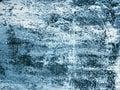 Textúra z klasický modrý v sneh fujavica
