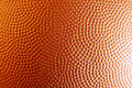 Texture closeup of orange basketball Royalty Free Stock Photos