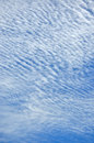 Texture of cloud on sky featured with blue Stock Photography