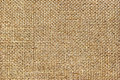 Texture of coarse cloth, burlap Stock Photography