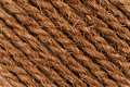Texture of coarse rope lines Stock Image