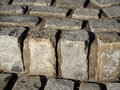 Texture of cobbles Royalty Free Stock Photo