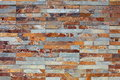 Shale wall texture Royalty Free Stock Photo