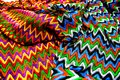 Texture colorfully textile canvas Royalty Free Stock Photo
