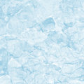 Texture of cool blue watercolor crumpled paper Royalty Free Stock Photo