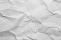 The texture of creased paper for the background and pattern Royalty Free Stock Photos