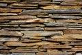 Texture de mur en pierre d'ardoise Photographie stock libre de droits