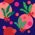 Texture de Noël tree.seamless. fond Image stock