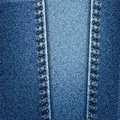 Texture de tissu de denim de blues-jean avec le point Photos stock