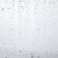 Texture drops of water on the transparent glass, abstract background Royalty Free Stock Photo