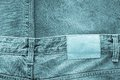 Texture fabric of jeans clothes indigo color Royalty Free Stock Photo