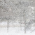 Texture of frosted glass. Winter background. Royalty Free Stock Photo