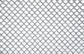 Texture Of Frozen Chainlink Fence Stock Photography
