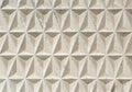 Texture of geometric triangular tiles