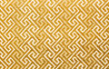 Texture of gold fabric skin Royalty Free Stock Images