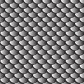 Texture gray fish scales seamless pattern Royalty Free Stock Photo