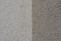Texture of gray plaster Stock Image