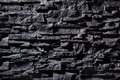Texture of grey stone wall dark Stock Photography