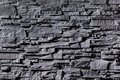Texture of grey stonewall abstract background Stock Photography