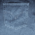 Texture of jeans Royalty Free Stock Photos
