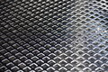 Texture made from stainless grille Royalty Free Stock Photo