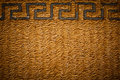 Texture of mat. Royalty Free Stock Photo