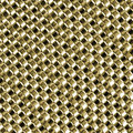 Texture metal - chain armour gold color Royalty Free Stock Photo
