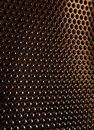 Texture of a metal grill Royalty Free Stock Photo