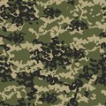 Texture military camo repeats seamless army green hunting Royalty Free Stock Photo