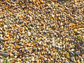 Texture of multicolored gravel Royalty Free Stock Photo