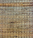 Texture of native thai style weave sedge mat background Royalty Free Stock Photo