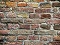 Texture of old brick wall Royalty Free Stock Photography