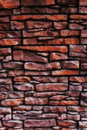 Texture of a old brick wall close up Royalty Free Stock Photos