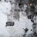 Texture of old cement concrete wall and brick Royalty Free Stock Photo
