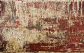 Texture of old painted plywood close up brown paint Stock Photos