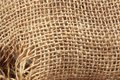 Texture old sack fabric Royalty Free Stock Photography