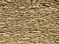 Texture of old stony wall from nature marlite material broken marl stones traditional materials building Stock Images