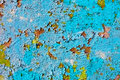 Texture - old weathered wall with grunge paint Royalty Free Stock Photo