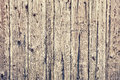 Texture of old wooden lining boards wall as background Stock Images