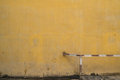 Texture of old yellow vintage wall of industrial factory