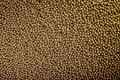 Texture of one thousand gold balls. Royalty Free Stock Photo