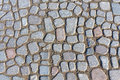 Texture of paving slabs made ​​of stone Royalty Free Stock Photo