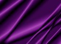 Texture of a purple  silk fabric. Royalty Free Stock Photo