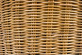Texture of rattan weave. Royalty Free Stock Photo